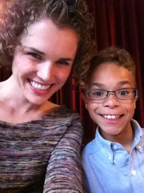 Emily and Brother