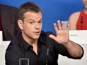 Matt Damon mansplaining